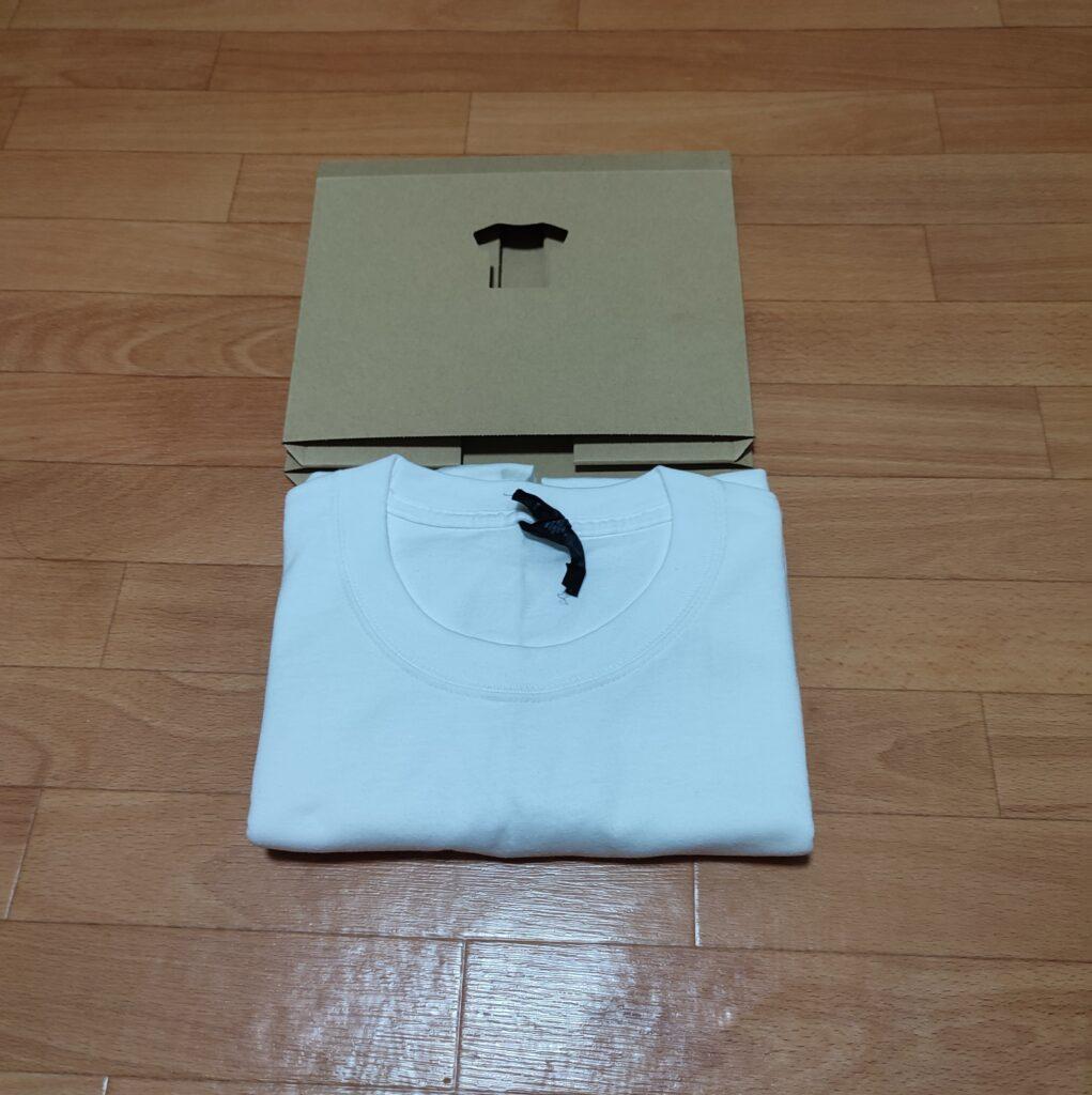 TATEMUからTシャツを引き出した画像