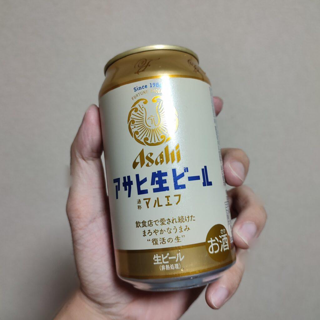 アサヒ生ビール・マルエフのパッケージ画像